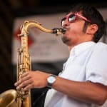 Elijah Jamal Balbed, performing with the Donvonte McCoy Quintet. Dakota Fine/CapitalBop