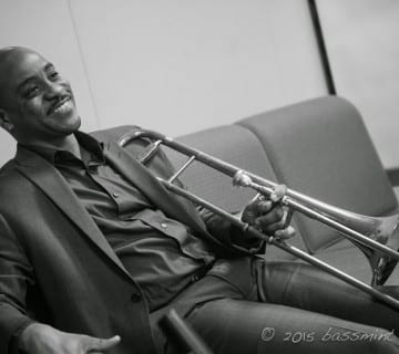 Reginald Cyntje's forthcoming album is an exercise in personal reflection and spiritual growth. Courtesy Bassmint Photo