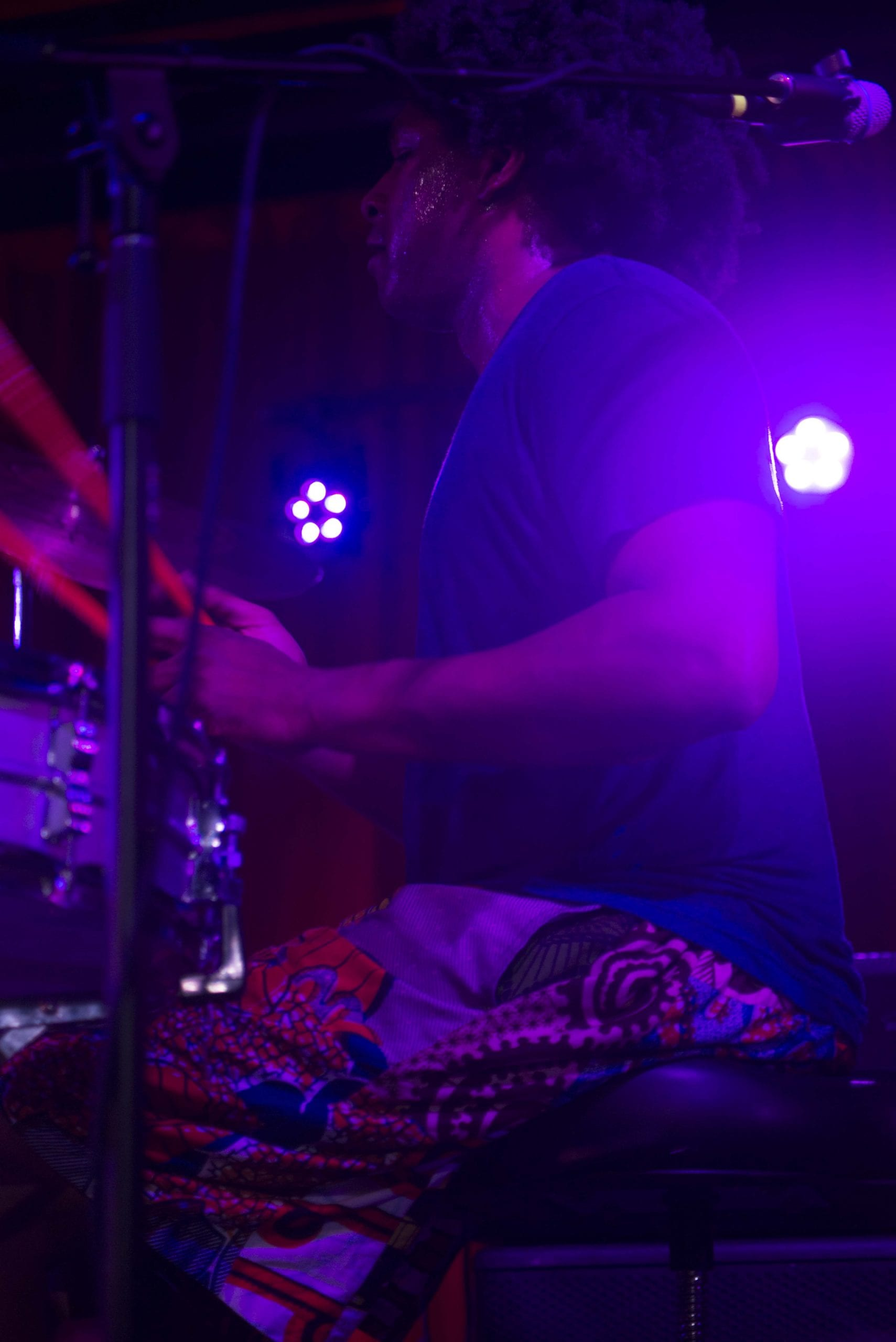 Justin Brown, drummer with Thundercat