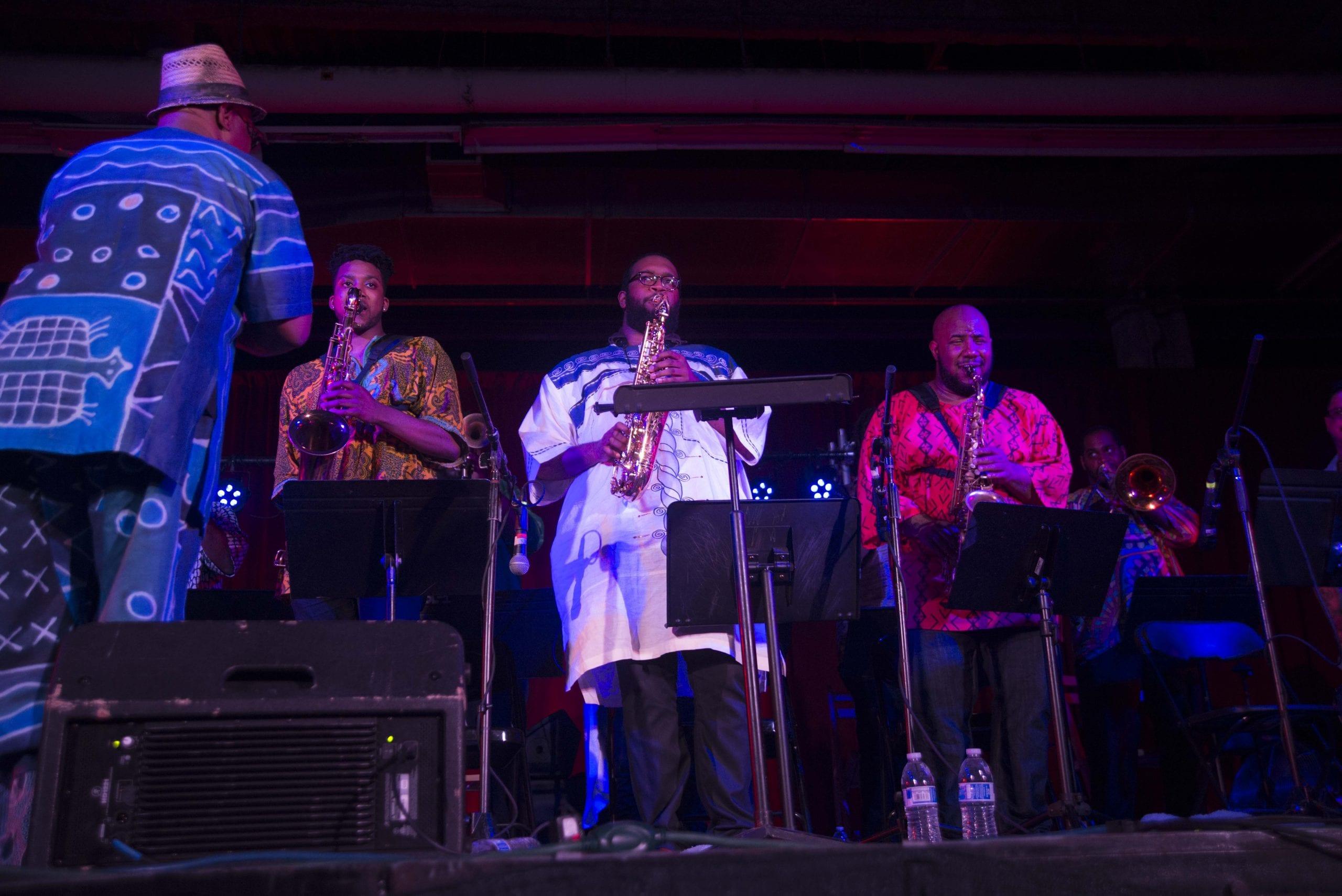 Ernest Dawkins' Live the Spirit Big Band