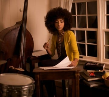 Esperanza Spalding headlines at Yards Park on Saturday evening.
