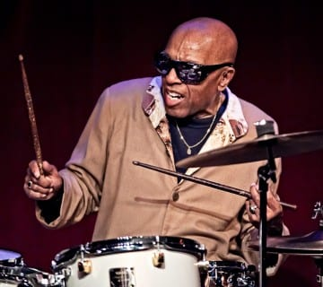 Roy Haynes, shown in a different performance, celebrated his 90th birthday a week after Blues Alley had held its own 50th birthday party. Courtesy birdlandjazz.com
