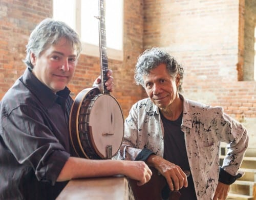 Bela Fleck and Chick Corea. Courtesy C. Taylor Crothers