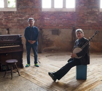 Bela Fleck, right, appears with Chick Corea at Strathmore this Wednesday. Courtesy C. Taylor Crothers
