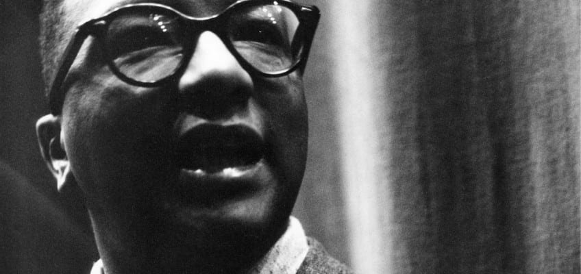 Billy Strayhorn, Duke Ellington's under-sung right hand, would have been 100 this month. He's the inspiration for East River Jazz's current season. Courtesy kplu.org