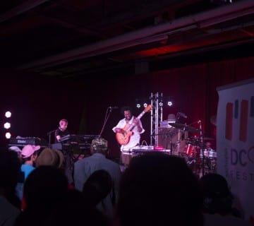 Thundercat performs in a converted warehouse at CapitalBop's DC Jazz Loft Series, part of the DC Jazz Festival this past June.