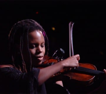 Regina Carter's performance tonight at the Hamilton kicks off the DC JazzFest. Courtesy zealnyc.com
