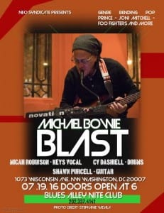 * Michael Bowie's BLAST @ Blues Alley   Washington   District of Columbia   United States