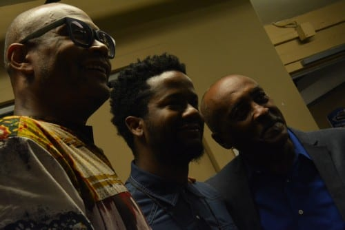 Three bassists: Herman Burney, Ben Williams and James King. Timoteo Murphy/CapitalBop