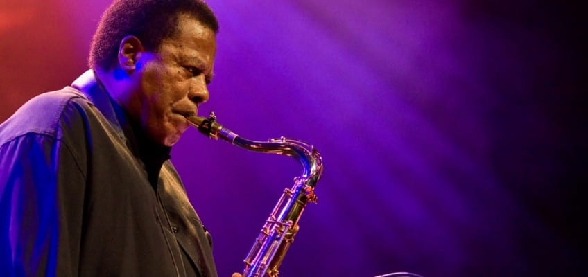 Wayne Shorter, shown in a separate performance, premiered a new suite inspired by the Big Bang. Courtesy haagsuitburo/flickr