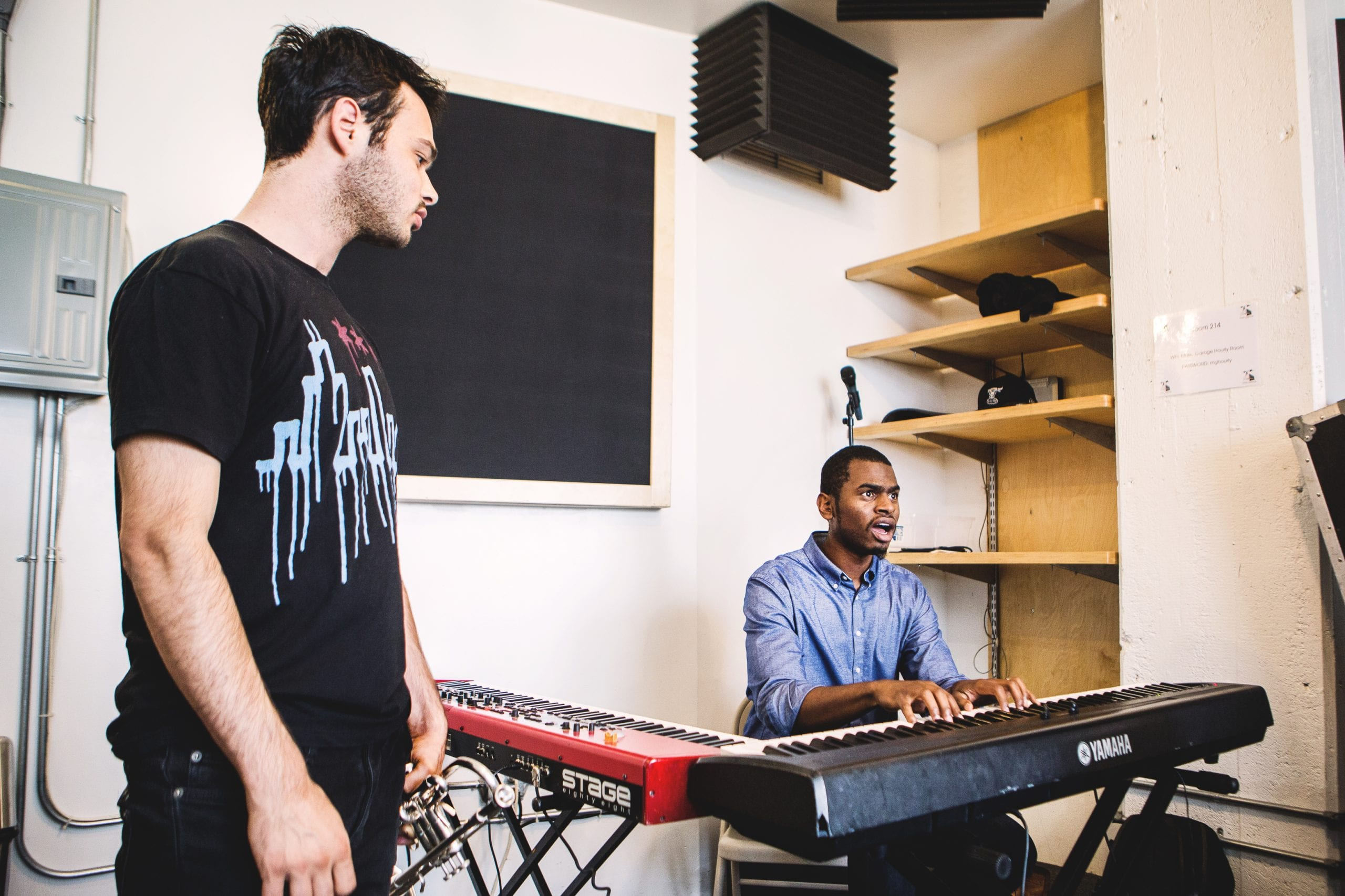 Nico Segal, left, and Julian Reid. Courtesy Rene Marban