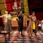 "Toni L. Martin, Harriett D. Foy, Felicia Curry and Theresa Cunningham (from left) perform in Arena Stage's presentation of ""Nina Simone: Four Women,"" which closes this weekend. Courtesy C. Stanley Photography"