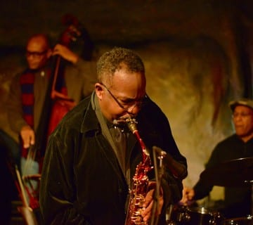Ron Sutton Jr. performs at Bohemian Caverns in 2015. Courtesy Lawrence A. Randall