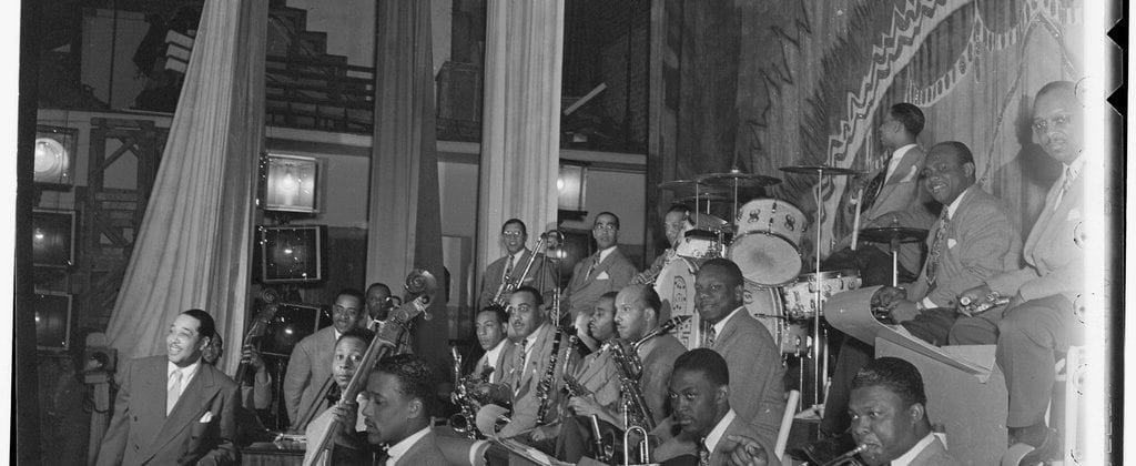 Duke Ellington Orchestra/Courtesy William P. Gottlieb and Library of Congress