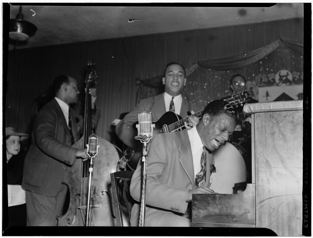 The Nat King Cole trio/Courtesy William Gottlieb/Library of Congress