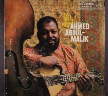 Ahmed Abdul-Malik album cover/Courtesy of the artist
