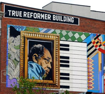 Duke Ellington mural. Courtesy art around/Flickr