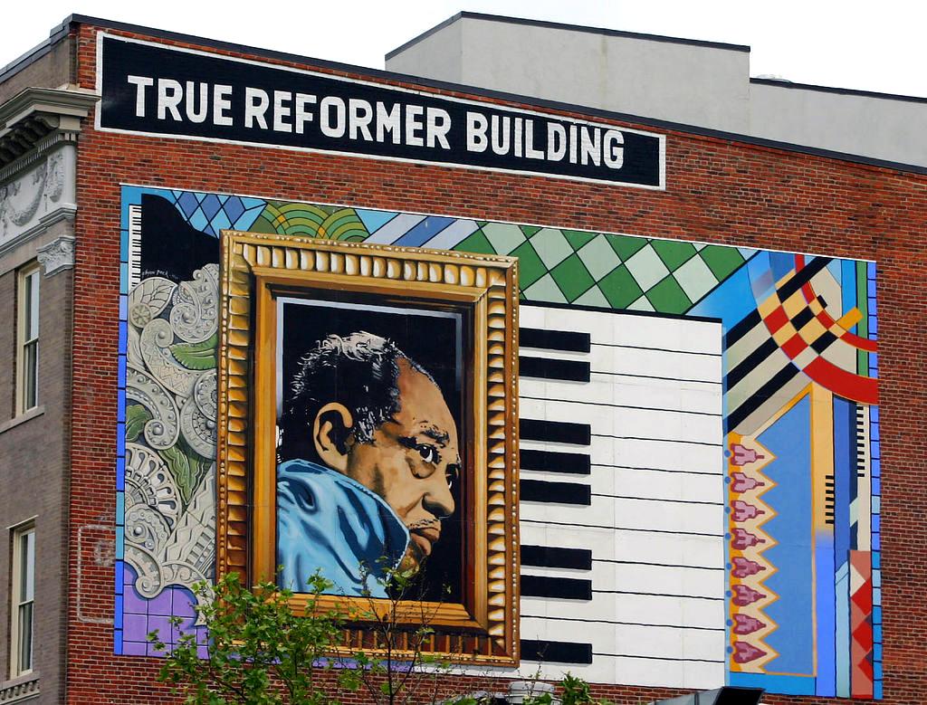 Duke Ellington mural. Courtesy art around/Flickr