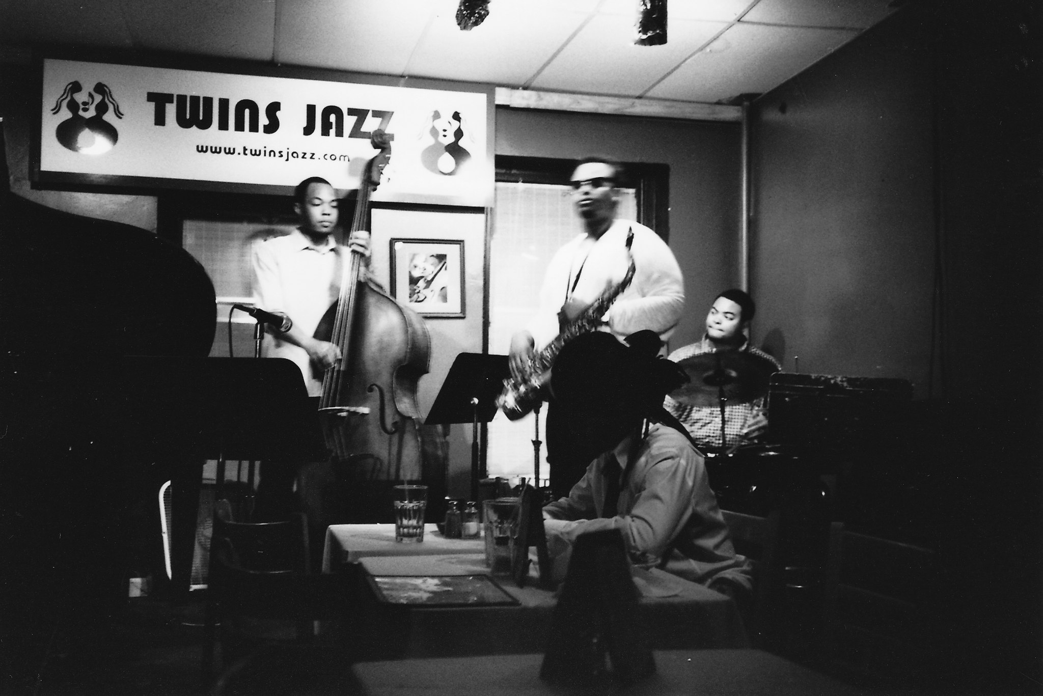 Performers at Twins jazz