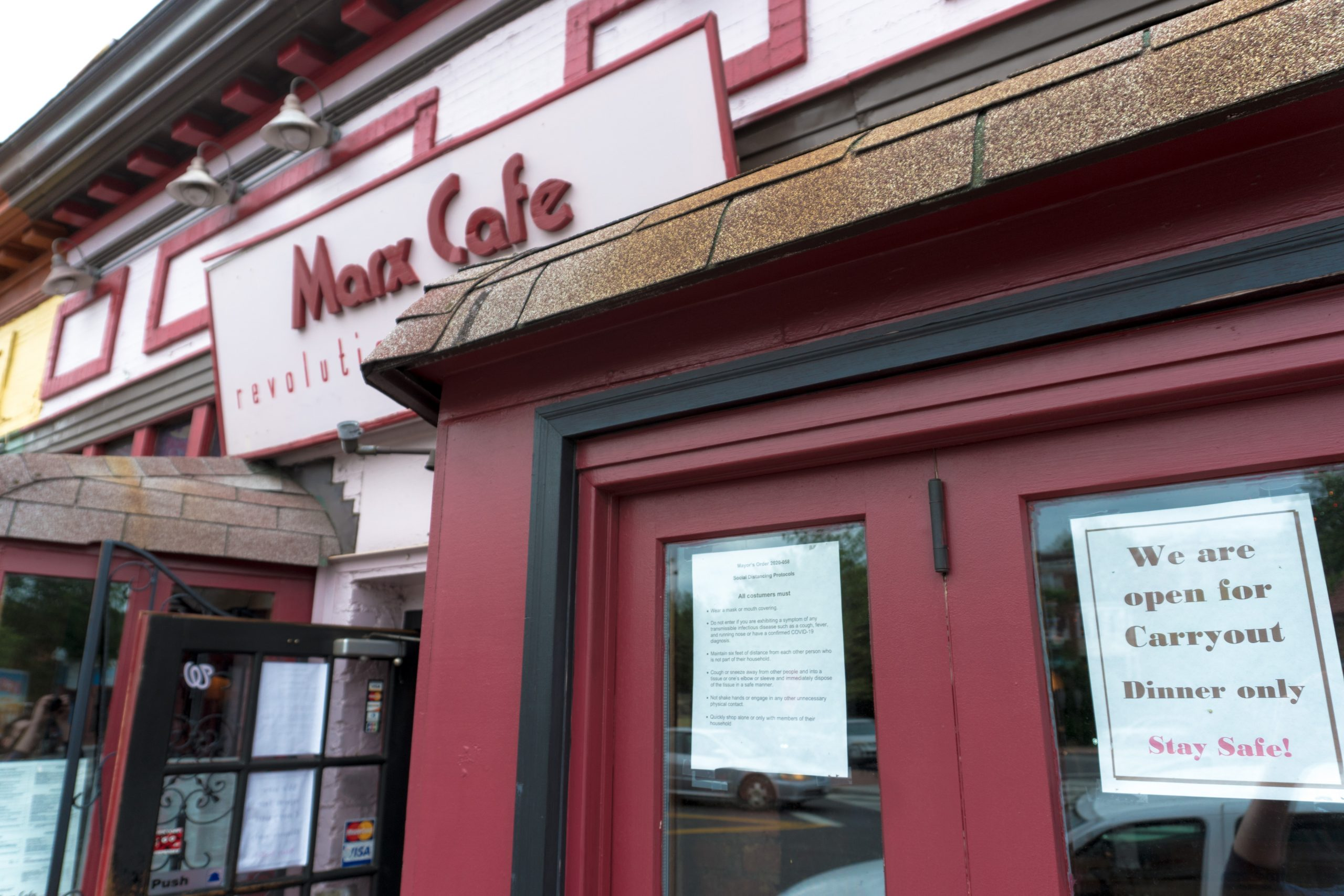 Marx Cafe. Jamie Sandel/CapitalBop
